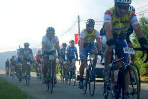 Cyclises à l'Ardéchoise