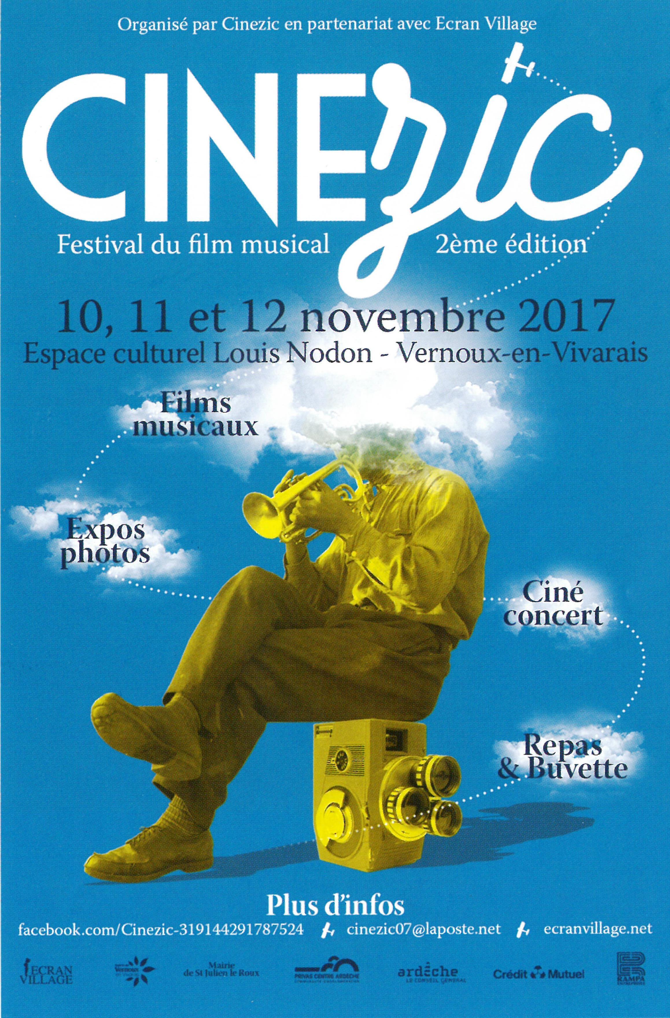 Festival du film musical  Cinézic  (2ème édition)
